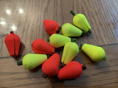 Fly FishIng Sight Strike Float 3 X Foam Attracters ORANGE And YELLOW