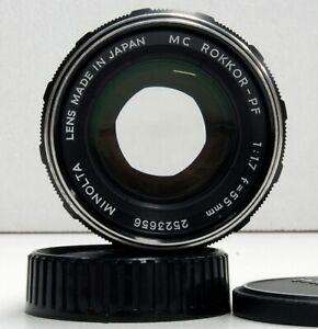 Minolta-MC-ROKKOR-PF-55mm-f-1-7-Lens