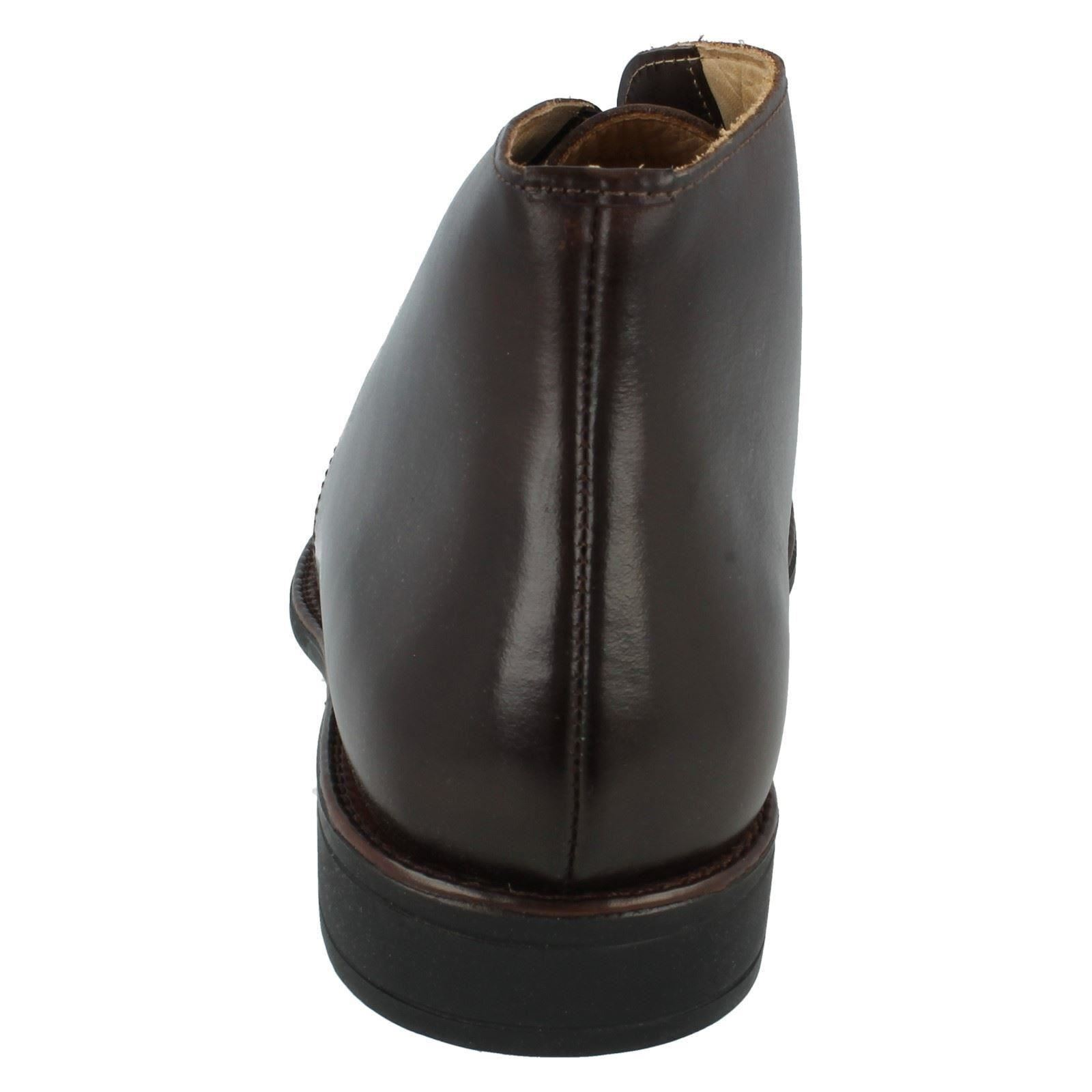 Anatomic&Co 421488,5 kg Herren Kaffee Touch Schnürsenkel Leder Stiefel mit