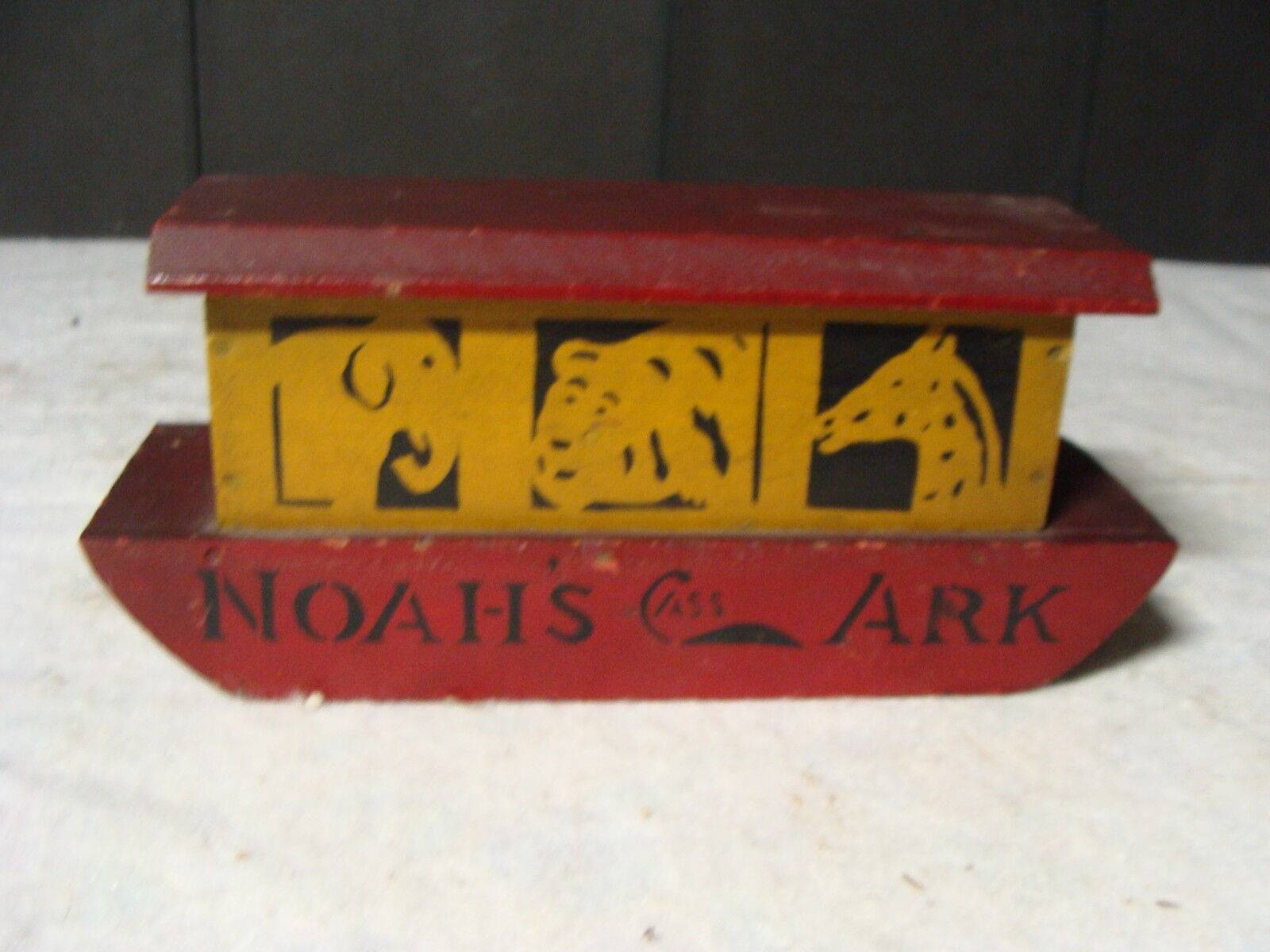 original CASS----Noah's Ark------early 1900's, Very Hard to find.