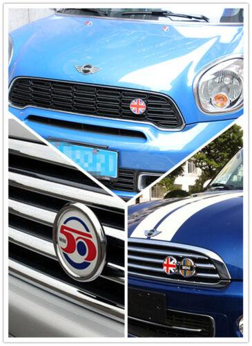 Metal Front Hood Bonnet Frontgrille Emblem Badge Decal for Mini Cooper F53