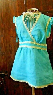 Dettagli su ZARA BASIC camicia casacca fiori smallMedium azzurro
