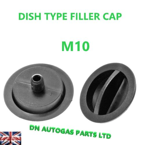 Universal Autogas LPG del bocchettone di riempimento punto Cap 10 mm per PIATTO tipo Filler