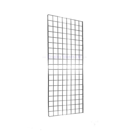 E3B Rejilla De Malla Panel Pared 2/' X 4/' Pantalla De Tienda De Cromo Paquete de 3