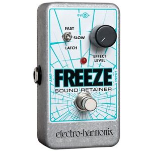 Electro-Harmonix-Freeze-Sound-Retainer-Compression-Sustain-Guitar-Effects-Pedal