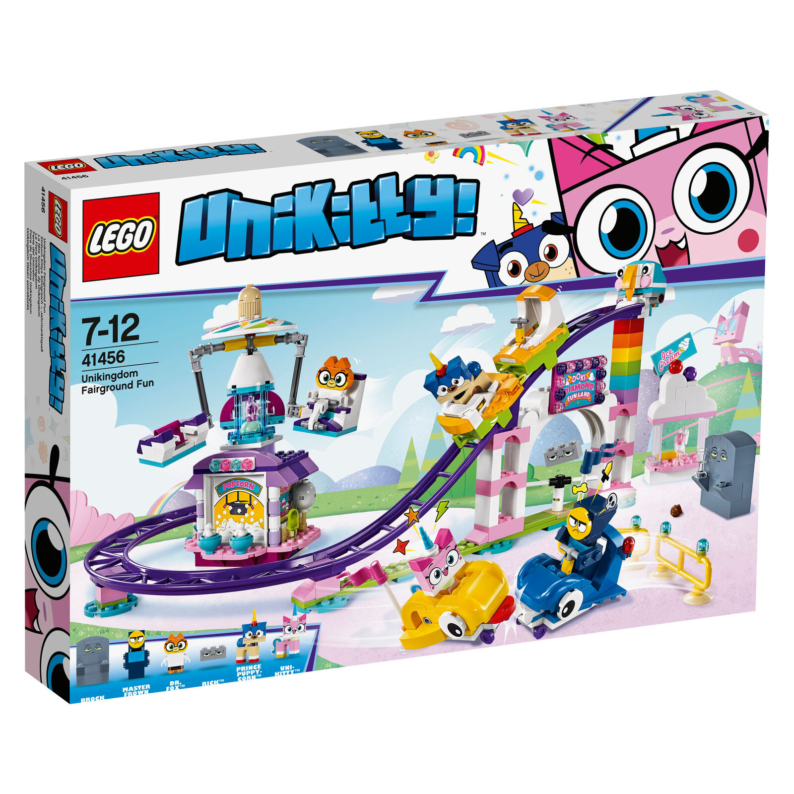 41456 LEGO Unikitty Unikingdom Fairground Fun Set 515 Pieces Age 7+