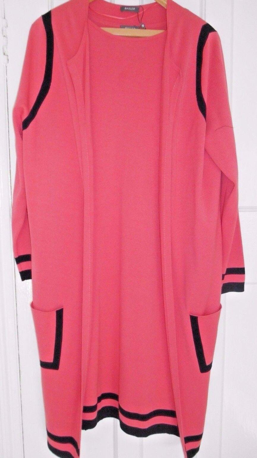 Basler Ladies Day Dress & Long Sleeve Cardigan - UK Sizes 14 16