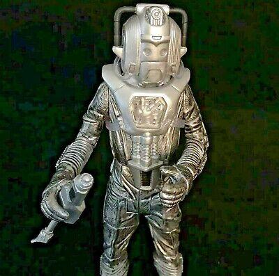 """Doctor Who Silvery Casque Cyberleader Cyberman Cybermen Cybus action figure 5.5/"""""""