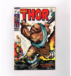 THOR #159 Grade 7.5 Silver Age find from Marvel Comics!!