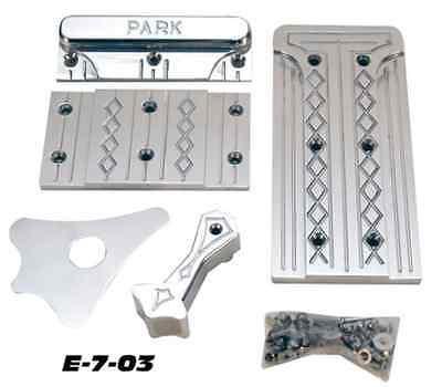 EZ-GO TXT Golf Cart Billet Pedal Set(k)