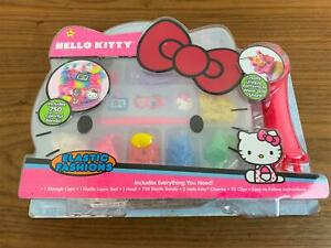 NEW-Hello-Kitty-Elastic-Fashions-Jewelry-Making-Kit-Loom-Bands-Crafts-Girls-Gift