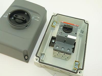 New Enclosed Manual Motor Starter Pump Starter 4 ~ 6 Amp Type 4//4X
