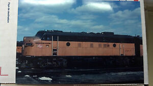 THE MILWAUKEE ROAD, #118C, CANNON BALL, LOCOMOTIVE, PICTURE, 4 x 6, VERY NICE,
