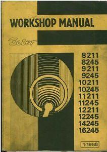 zetor tractor 12211 12245 14245 16245 workshop manual ebay rh ebay ie zetor 6245 workshop manual zetor 7045 workshop manual