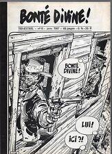 Bonté Divine n°8. Fanzine bd. COLIN WILSON. Blueberry. Complet 1987. TBE