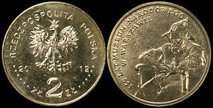 Pologne. 2 Zloty. 2012 (Pièce KM#Y.821 Neuf) 150 ans Musée national de Varsovie