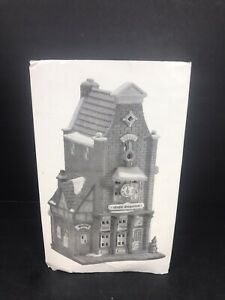 VTG-DEPT-56-Music-Emporium-Christmas-in-the-City-Retired-1996-With-Box-EUC