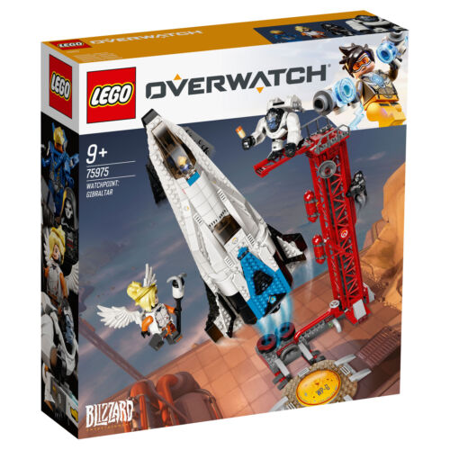75975 LEGO Overwatch watchpoint Gibraltar Set avec chiffres 730 pièces âge 9yrs+