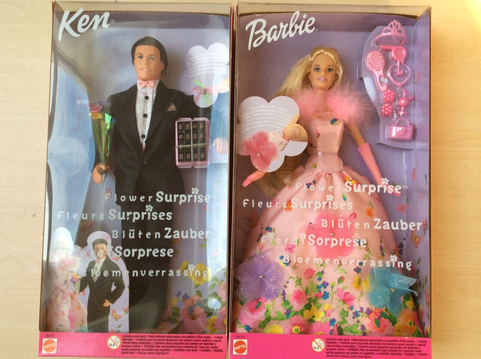 """Blütenzauber Barbie Dolln """"Barbie und Ken"""""""