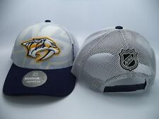 Nashville Predators Reebok NHL Structured Adjustable Snapback Hat Cap OSFA