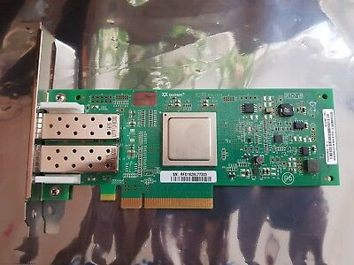Fc Fibre Channel 8gfc Sfp + Dual Port Pci-e 2.0 X8 Dell Mfp5t Qlogic Qle2562- Design Moderno