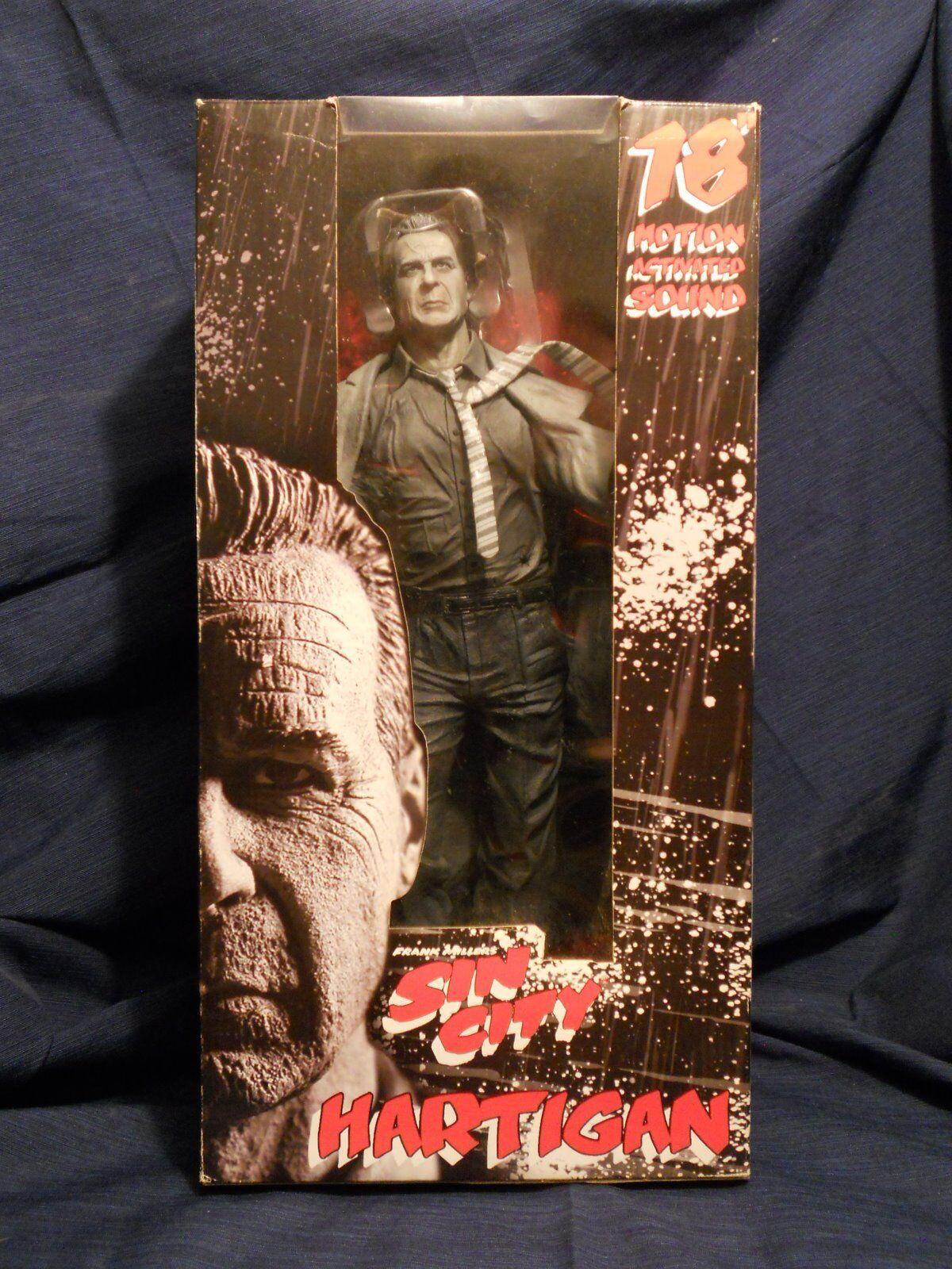 Frank Miller's Sin City 18  Hartigan action figure with sound (Bruce Willis)