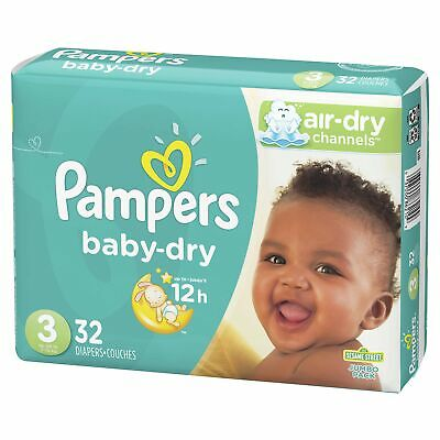 Pampers Swaddlers Sensitive Baby Diapers VALUE Size N 1 2 3 4 CHEAP!! NO TAX!!!