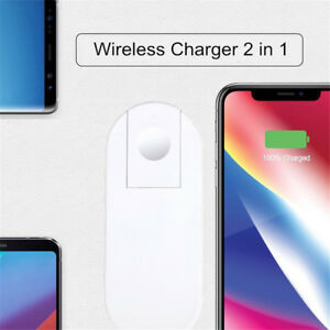 Wireless-Fast-Charging-Charger-2-in-1-Mini-AirPower-Wireless-Charger