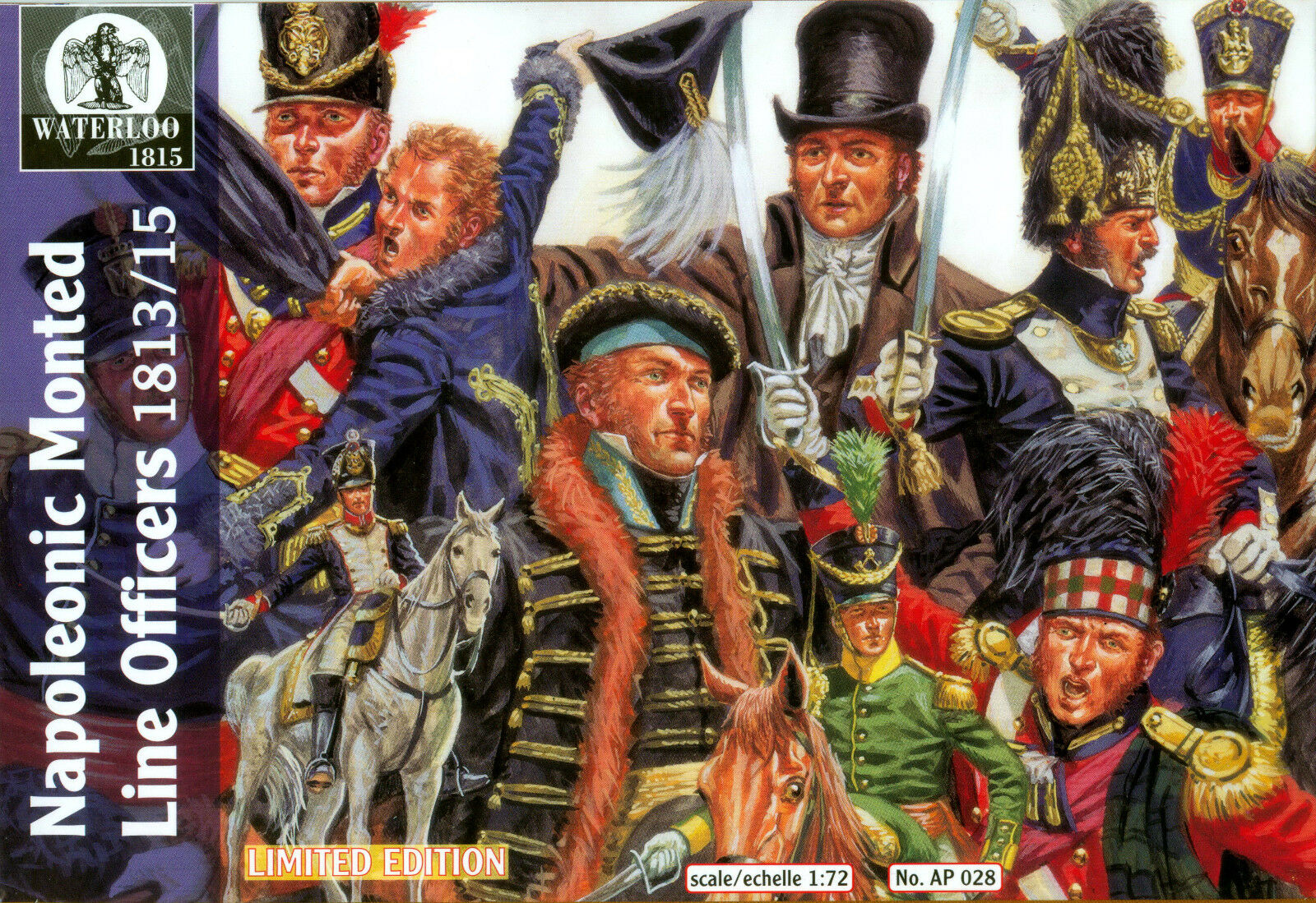 Waterloo 1815-054 1:72 French Line Lancers