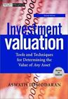 Wiley Finance: Investment Valuation : Tools and Techniques for Determining the Value of Any Asset 108 by Aswath Damodaran (2002, Hardcover, Revised)