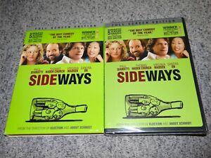 SIDEWAYS-2005-Full-Screen-Edition-DVD-Paul-Giamatti-Sandra-Oh-w-Slipcase-SEALED