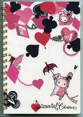 San-X Sentimental Circus Spiral Notebook Memo #13