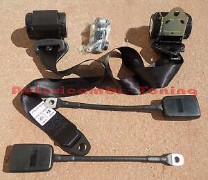 CINTURE-DI-SICUREZZA-AUTOMATICHE-NERE-FIAT-500-126-VARIE-AUTO-EPOCA
