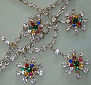 Vintage HIGH END Italian Jewelry DELFINO Designer RUNWAY NECKLACE