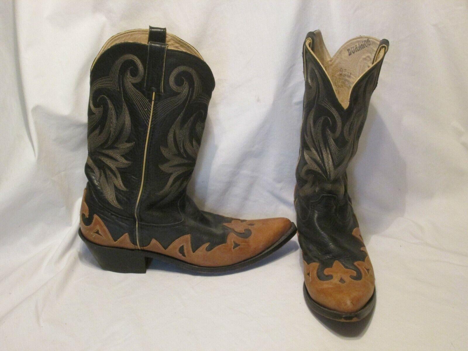 botas Cowboy Western Equitación Talón Durango marróns Cuero RD4801  Talla 9.5  tienda en linea