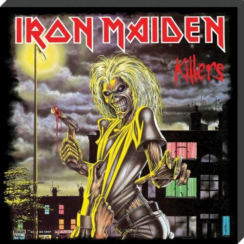 Iron Maiden Leinwanddruck Killers Klassische Albumhülle 40 x 40 x 2.5 cm