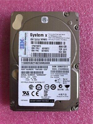 IBM 90Y8872 600GB 10k 6GB//s 2.5in Hard Drive HDD 90Y8876 90Y8873