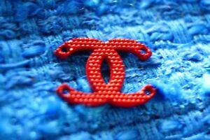 100-Chanel-button-1-pieces-cc-logo-emblem-gold-0-6-inch-red