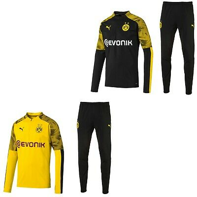 BVB Borussia Dortmund Fanartikel Trainingsanzug Jogginganzug 2019 20 Herren Puma   eBay