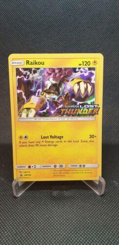 Raikou SM150 Holo Lost Thunder Staff Pre Release Promo Pokemon Card