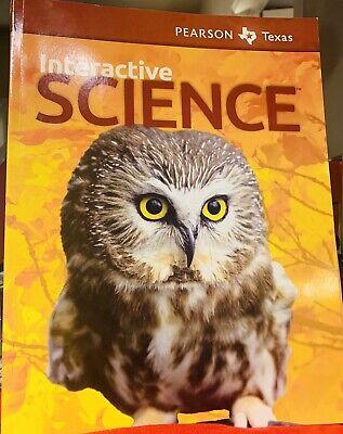 Pearson Interactive Science Texas Edition 1st Grade