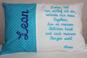 Kissen mit Namen,Wunschname,Taufe,Geburt,Geschenk,Kinder