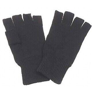 Strickhandschuhe Handschuhe ohne Finger Fingerlos Arbeitshandschuhe Winter warm