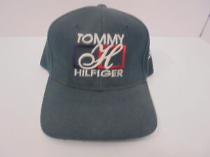 db576389 Image is loading Vintage-Tommy-Hilfiger-Logo-Green-Snapback-Cap-Hat