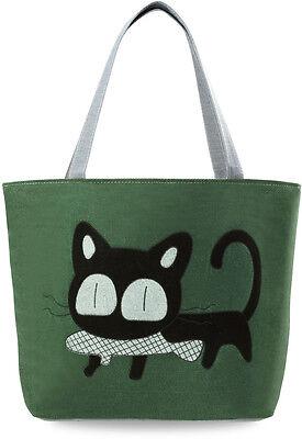 große EKO - Tasche Einkaufstasche Shopperbag Eule Frühlings - Farben Hase