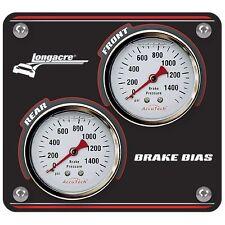 Longacre Brake Balance / Bias Gauges / Dials Mini Panel - Race / Rally