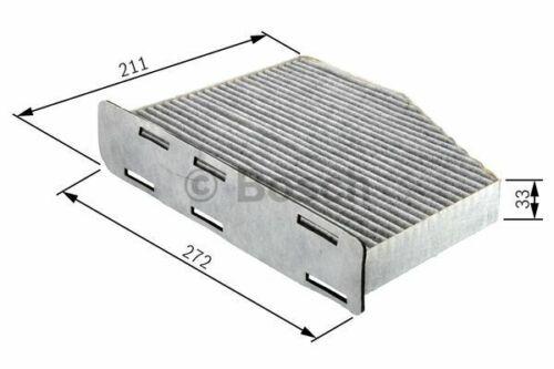 1.6 TDI Mk3 Bosch Cabin Pollen Filter Interior Air Fits VW Caddy