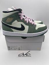 Nike Air Jordan 1 Mid Dutch Green Women's 8.5