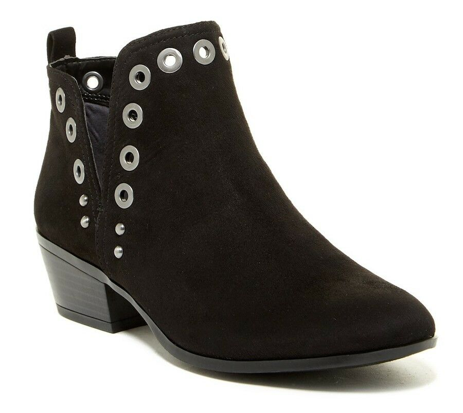 New Sam Edelman Rubin Grommet Ankle Booties