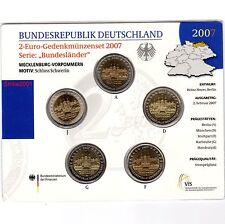 2 EURO COMM GERMANIA 2007 ADFGJ Folder Uff. Schwerin